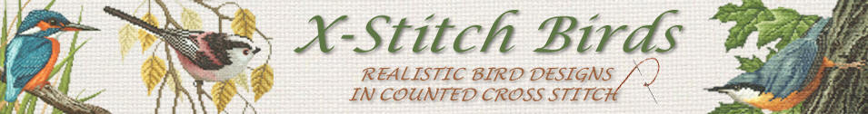 X-Stitch Birds Main Banner